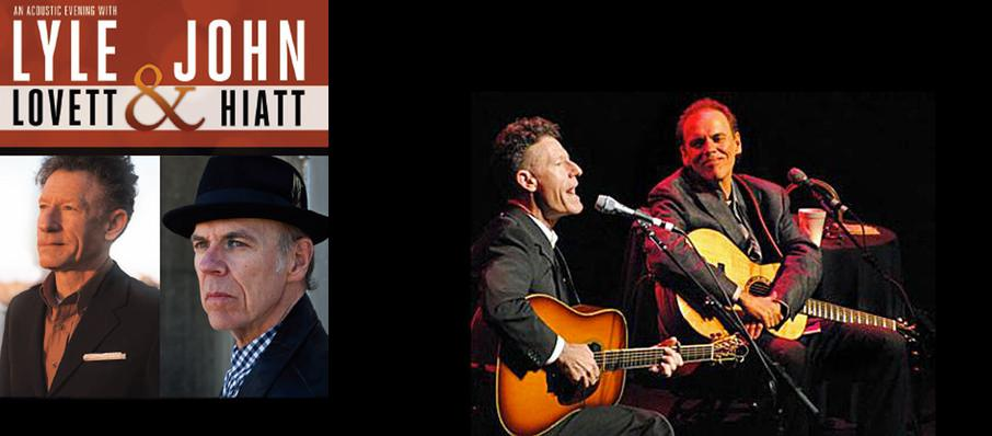 Lyle Lovett & John Hiatt at Grand Opera House