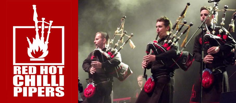 Red Hot Chilli Pipers at Grand Opera House