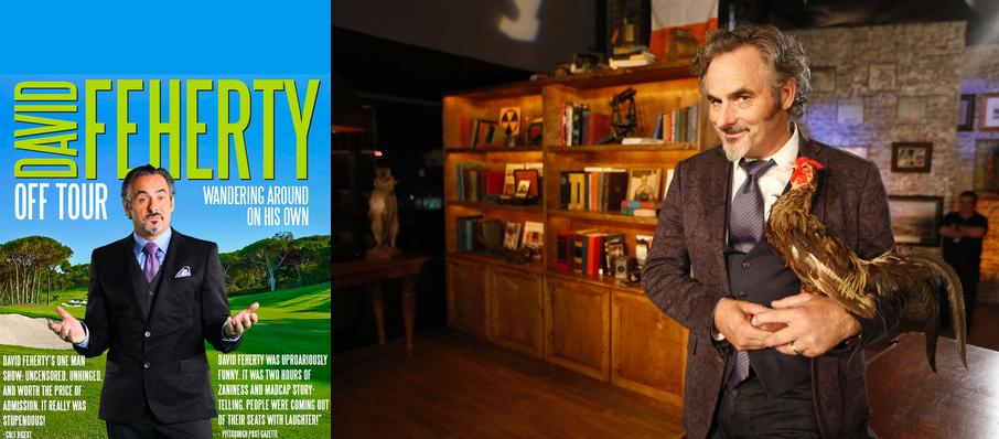 David Feherty at The Playhouse on Rodney Square