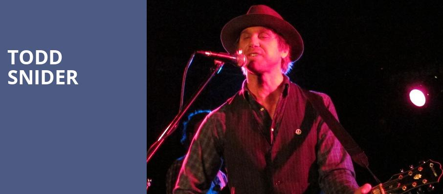Todd Snider, The Queen, Wilmington