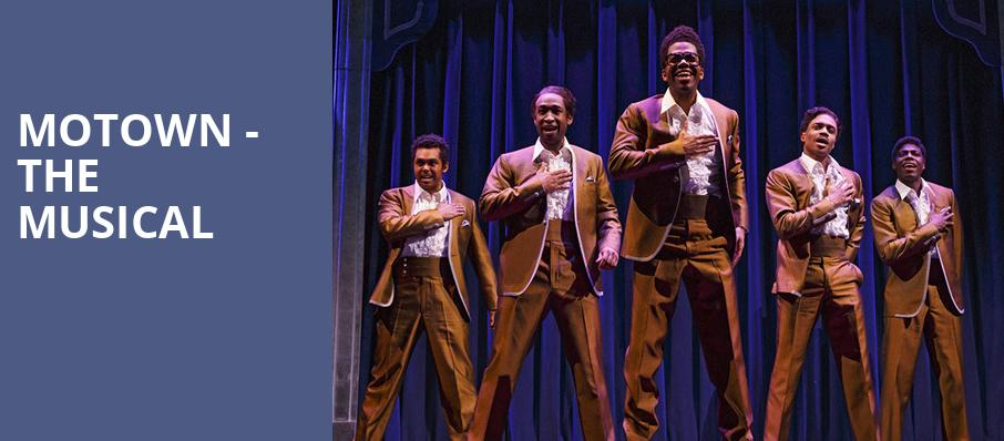 Motown The Musical, The Playhouse on Rodney Square, Wilmington